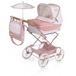 Carro de Bonecas Carro Dobrável Reborn Classic Romantic De Cuevas Toys 82038