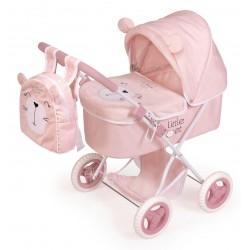 Carro de Bonecas Little Pet Dobrável De Cuevas Toys 85039