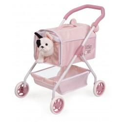 Carro de Animais de estimação Meu Primeiro Carrinho Animaizinhos Little Pet De Cuevas Toys 86139