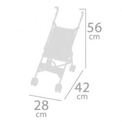 Carro de Bonecas Dobrável Cadeira De Cuevas Toys 90093 | De Cuevas Toys