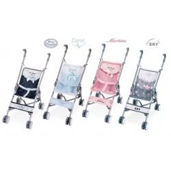 Carro de Bonecas Dobrável Cadeira De Cuevas Toys 90096