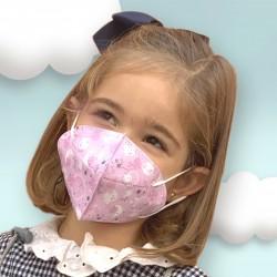 Máscara Higiénica Reutilizável Infantil Magic María | De Cuevas Toys
