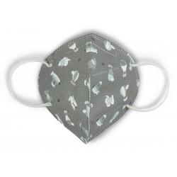 Máscara Higiénica Reutilizável Infantil Sky De Cuevas Toys