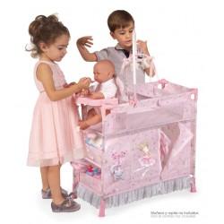 Armário Trocador de Bonecas Dobrável Magic María De Cuevas Toys 53034 | De Cuevas Toys