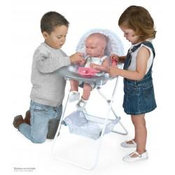 Cadeira Elevada Dobrável de Bonecas Martín De Cuevas Toys 53229 | De Cuevas Toys