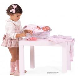 Combi com Acessórios de Bonecas 4 em 1 Magic María De Cuevas Toys 53534 | De Cuevas Toys