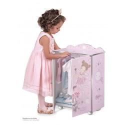 Armário Madeira de Bonecas Magic María DeCuevas Toys 55234 | DeCuevas Toys