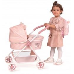 Carro de Bonecas Meu Primeiro Carrinho Animaizinhos Little Pet DeCuevas Toys 86039