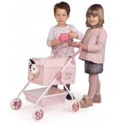 Carro de Animais de estimação Meu Primeiro Carrinho Animaizinhos Little Pet DeCuevas Toys 86139