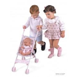 Carro de Bonecas Dobrável Cadeira Magic María DeCuevas Toys 90034