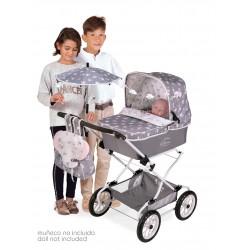 Carro de Bonecas Carro Dobrável Reborn Sky DeCuevas Toys 82035