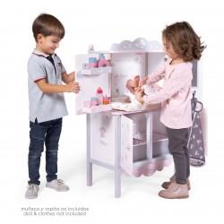 Armário Madeira Trocador de Bonecas Sky DeCuevas Toys 54835 | DeCuevas Toys