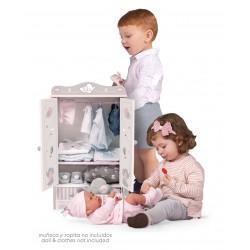 Armário Madeira de Bonecas Sky DeCuevas Toys 54035 | DeCuevas Toys