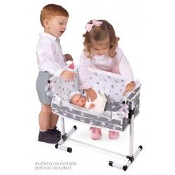 Berço de Bonecas Regulável Dorme Comigo Sky DeCuevas Toys 51235 | DeCuevas Toys