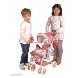 Carro de Bonecas Cadeira Dupla Dobrável Martina DeCuevas Toys 90333