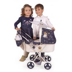 Carro de Bonecas Classic Romantic Dobrável DeCuevas Toys 85032 | DeCuevas Toys