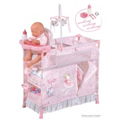 Armário Trocador de Bonecas Dobrável Magic María DeCuevas Toys 53034