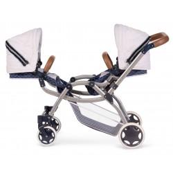 Carro de Bonecas Duplo Dobrável  Top Collection 80337 | DeCuevas Toys
