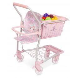 Carrinho da Compra Porta-Bebé Ocean Fantasy DeCuevas Toys 52141