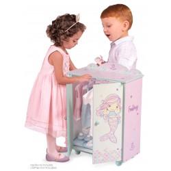 Armário Madeira de Bonecas Ocean Fantasy DeCuevas Toys 55241 | DeCuevas Toys