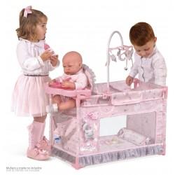 Berço Parque Trocador Pequeno de Bonecas Magic María DeCuevas Toys 53134 | DeCuevas Toys