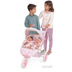 Cadeira de Bonecas Gémeas Dobrável Ocean Fantasy DeCuevas Toys 90341 | DeCuevas Toys