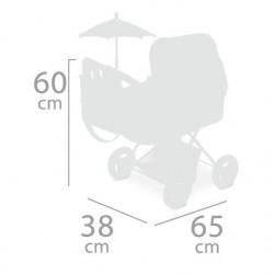 Carro de Bonecas Dobrável com Parasol Martina DeCuevas Toys 85033 | DeCuevas Toys