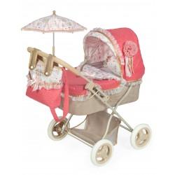 Carro de Bonecas Dobrável com Parasol Martina DeCuevas Toys 85033