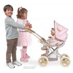Carro e Cadeira de Bonecas 3x1 Dobrável Didí DeCuevas Toys 85143 | DeCuevas Toys