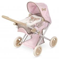 Carro e Cadeira de Bonecas 3x1 Dobrável Didí DeCuevas Toys 85143